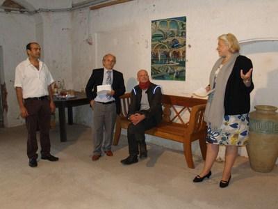 Ausstellung T. Şenocak