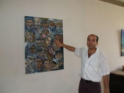 Ausstellung T. Şenocak 1