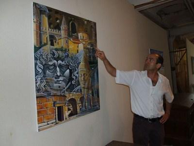 Ausstellung T. Şenocak 2