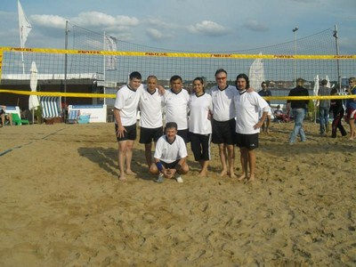 Beach-Volleyball 2. Tag