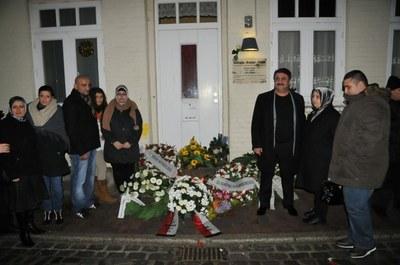 Gedenkfeier in Mölln (Foto: Nebahat Uzun; europahaber.com)