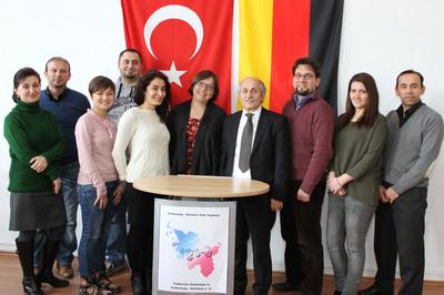 Bündnis 90/ Die Grünen zu Besuch bei der TGS-H
