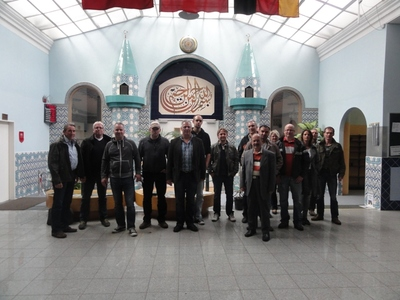 Moscheebesuch in Lübeck