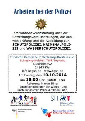 Info Veranstaltung Polizei Kiel