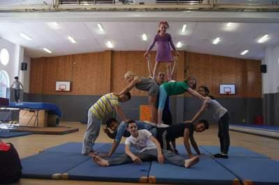 Zirkus Pyramide