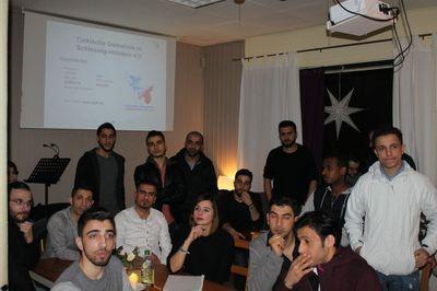 Publikum beim Infoabend