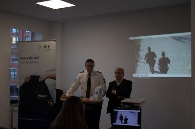 Infoveranstlatung AIM - Polizeiberuf