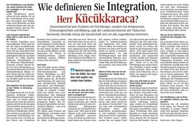 Wie definieren Sie Intergration Herr Küçükkaraca?