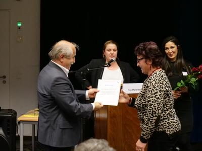 Verleihung von Zertifikaten