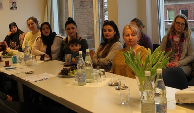 EU-Delegation zu Besuch bei MomStarter