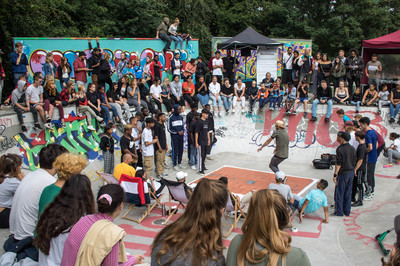 Beatz im Park Dancebattle 1