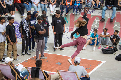 Beatz im Park Dancebattle 2